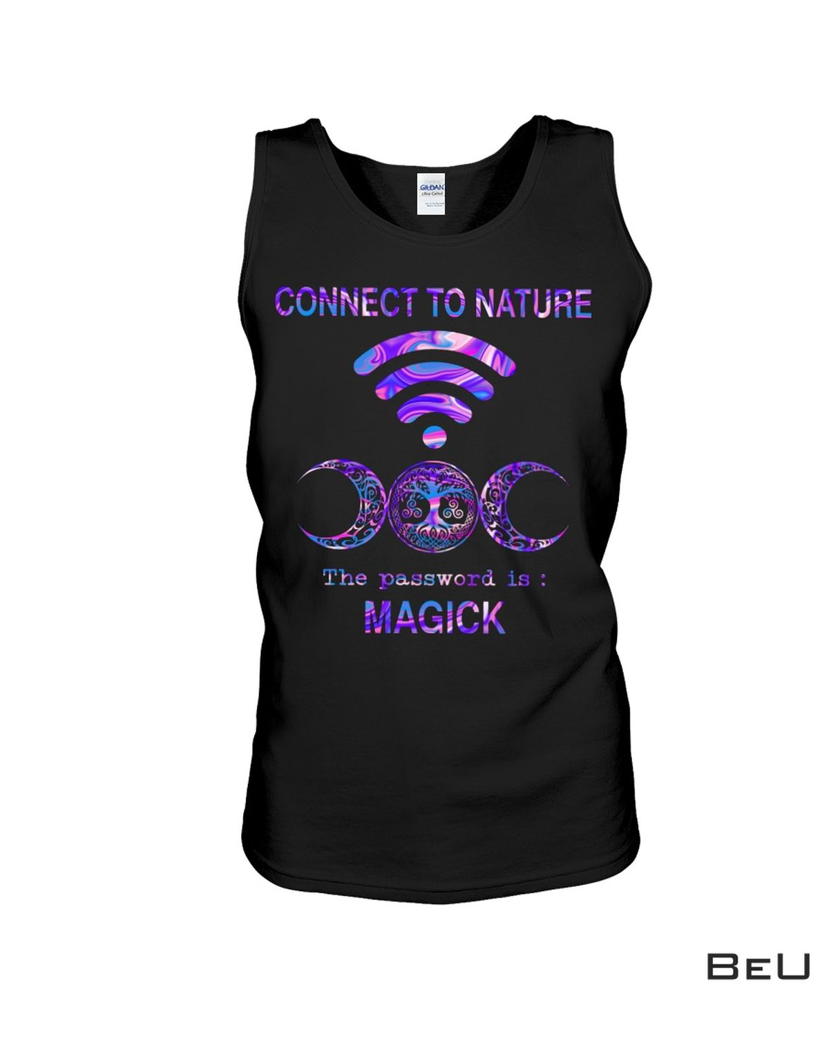 Witch Connect To Nature The Password Is Magick Shirtc