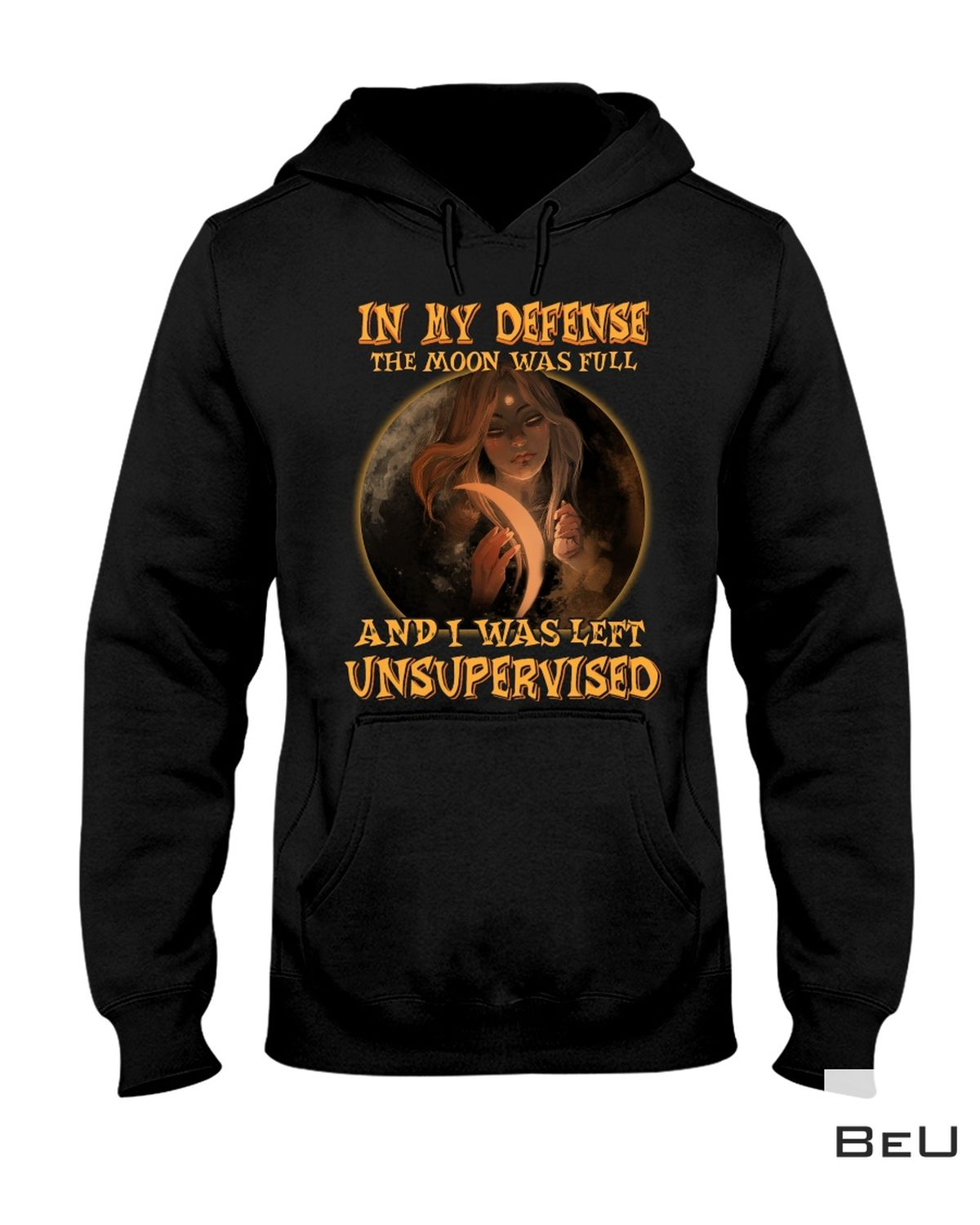 Hot Deal Witch In My Defense The Moon Was Full Shirt, hoodie, tank top