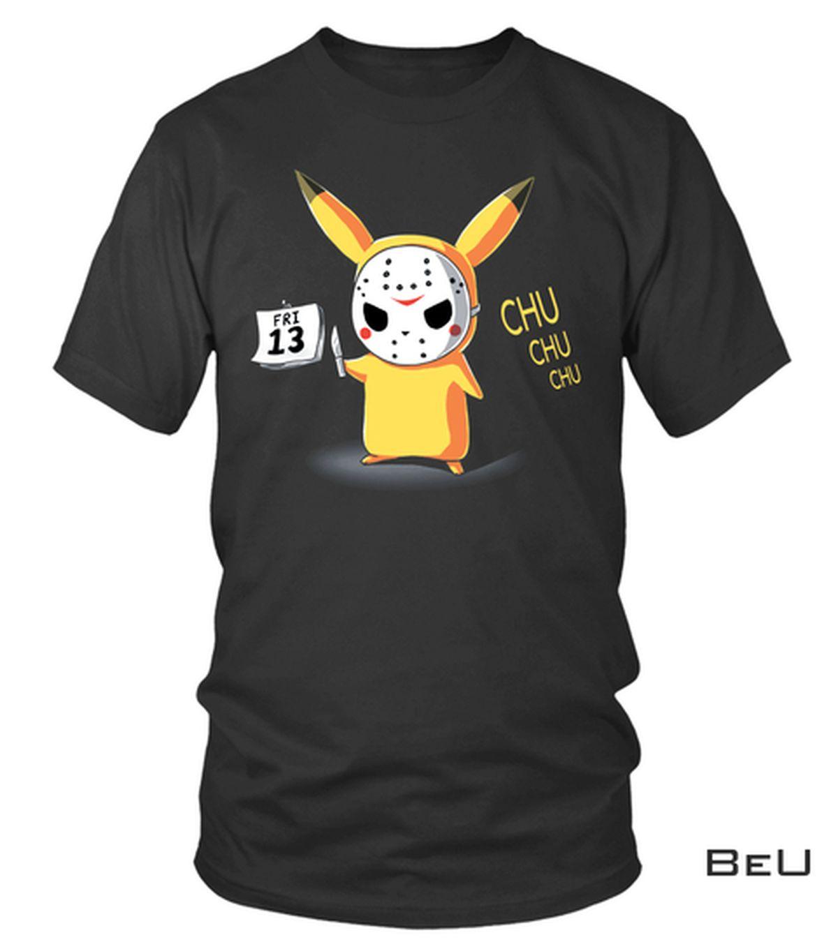 Pikachu Jason Voorhees Shirt, hoodie, tank top