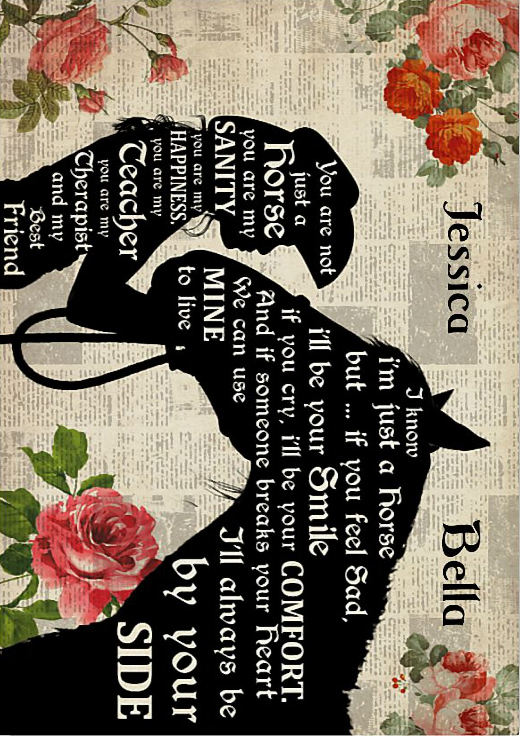You are not just a horse you are my sanity personalized poster