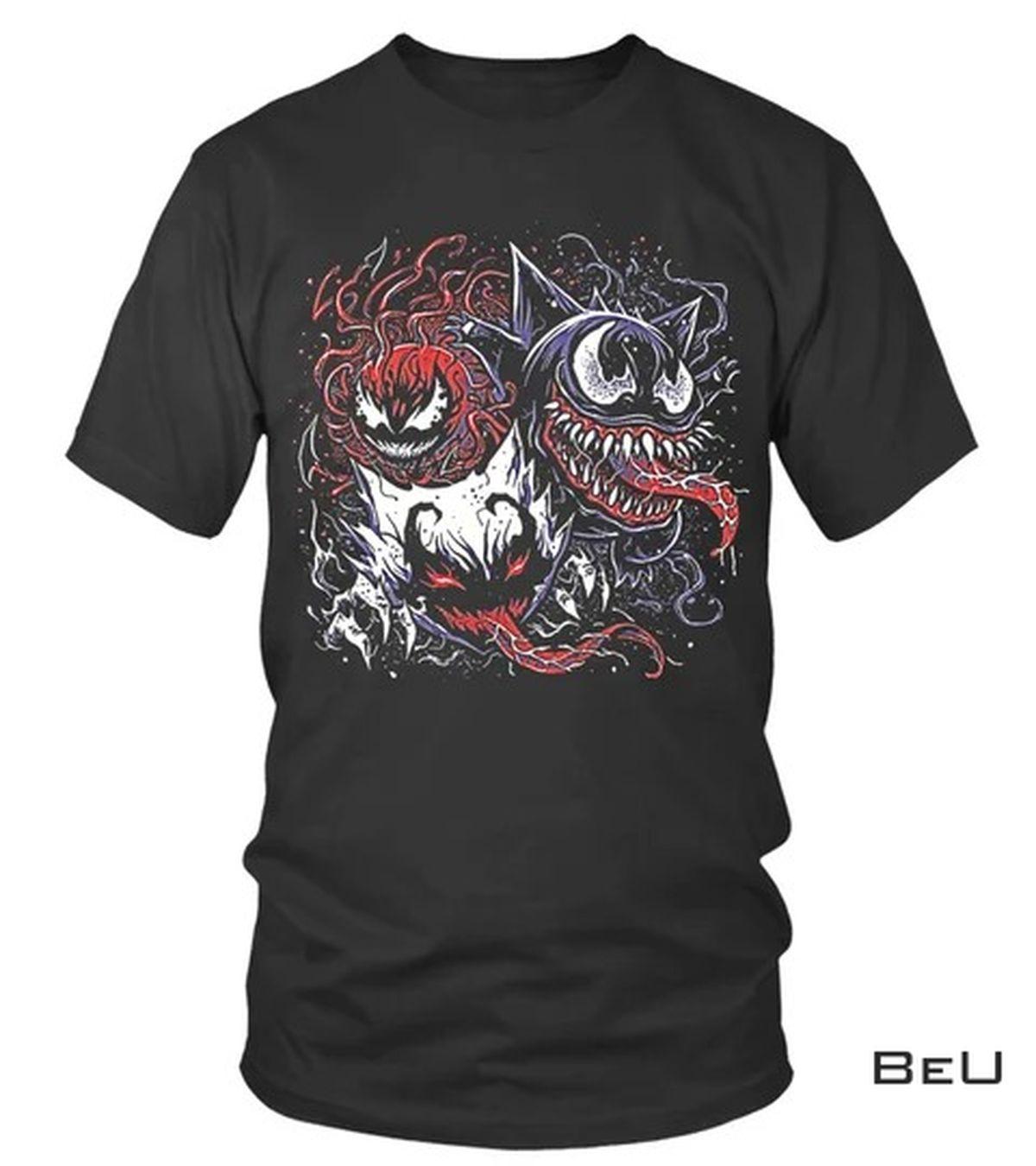 Venom Gengar Pokemon Shirt