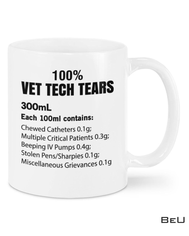 100% Vet Tech Tears Mugs