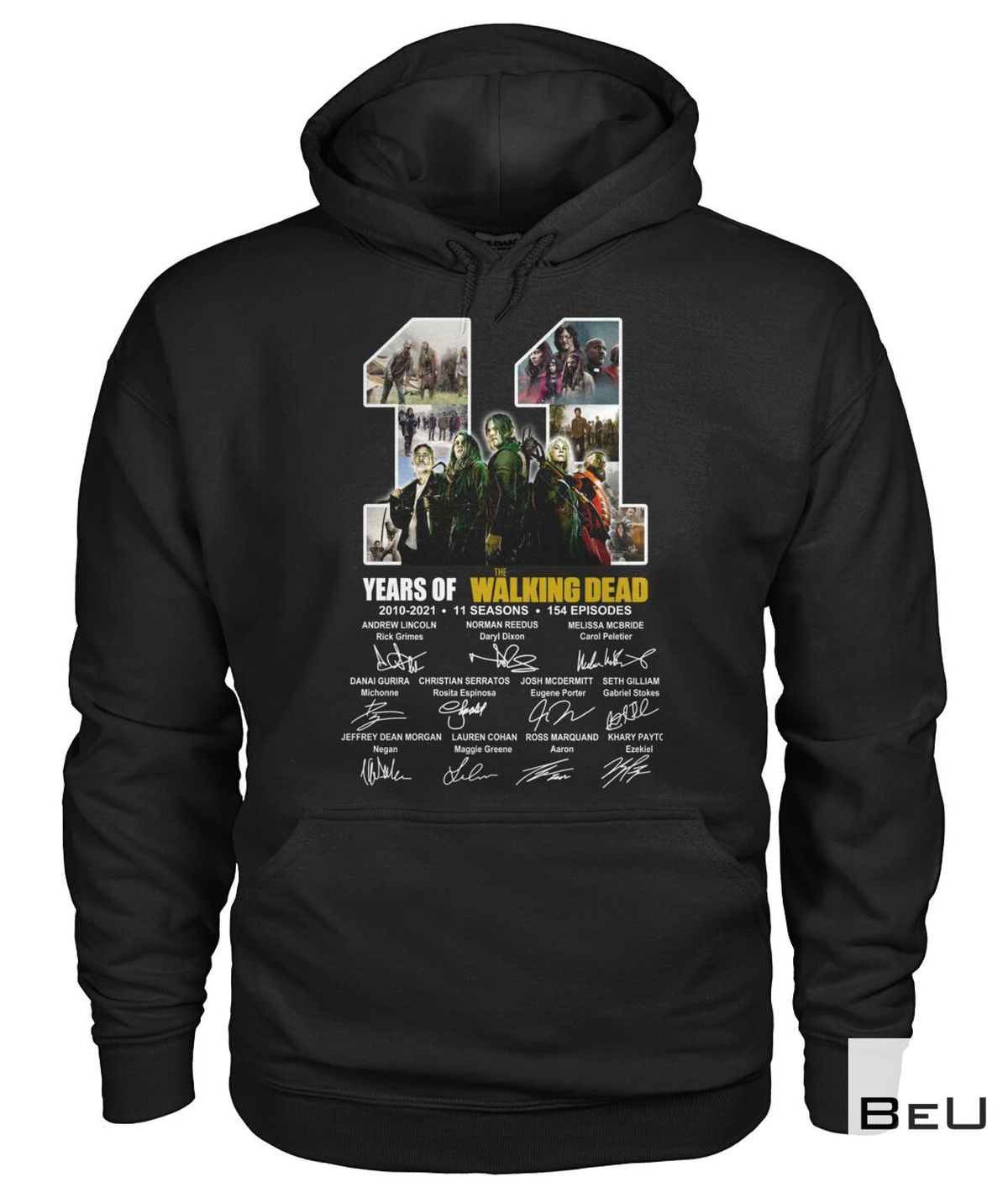 3D 11 Years Of The Walking Dead Shirt