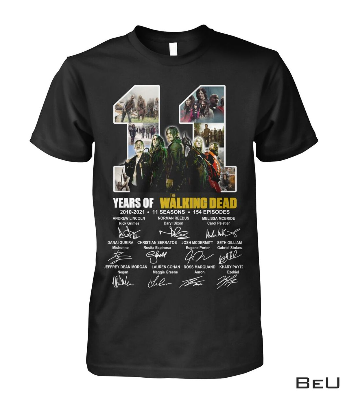 11 Years Of The Walking Dead Shirt