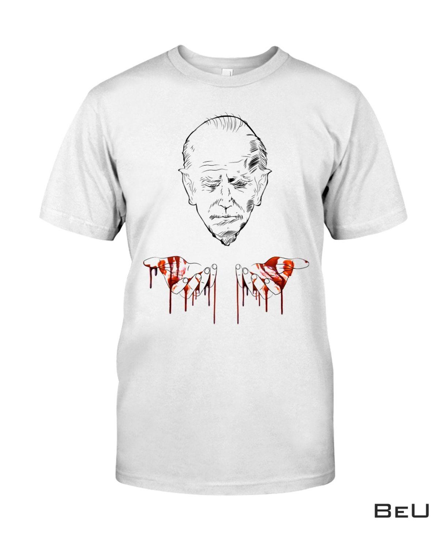 Biden Blood On His Hands Shirt, hoodie