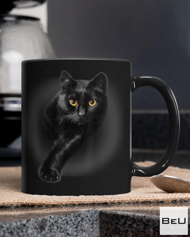 Very Good Quality Black Cat Black Mug