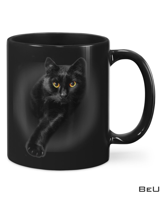 Unisex Black Cat Black Mug