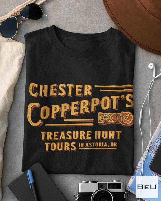 Chester Copperpot Treasure Hunt Tour Shirt
