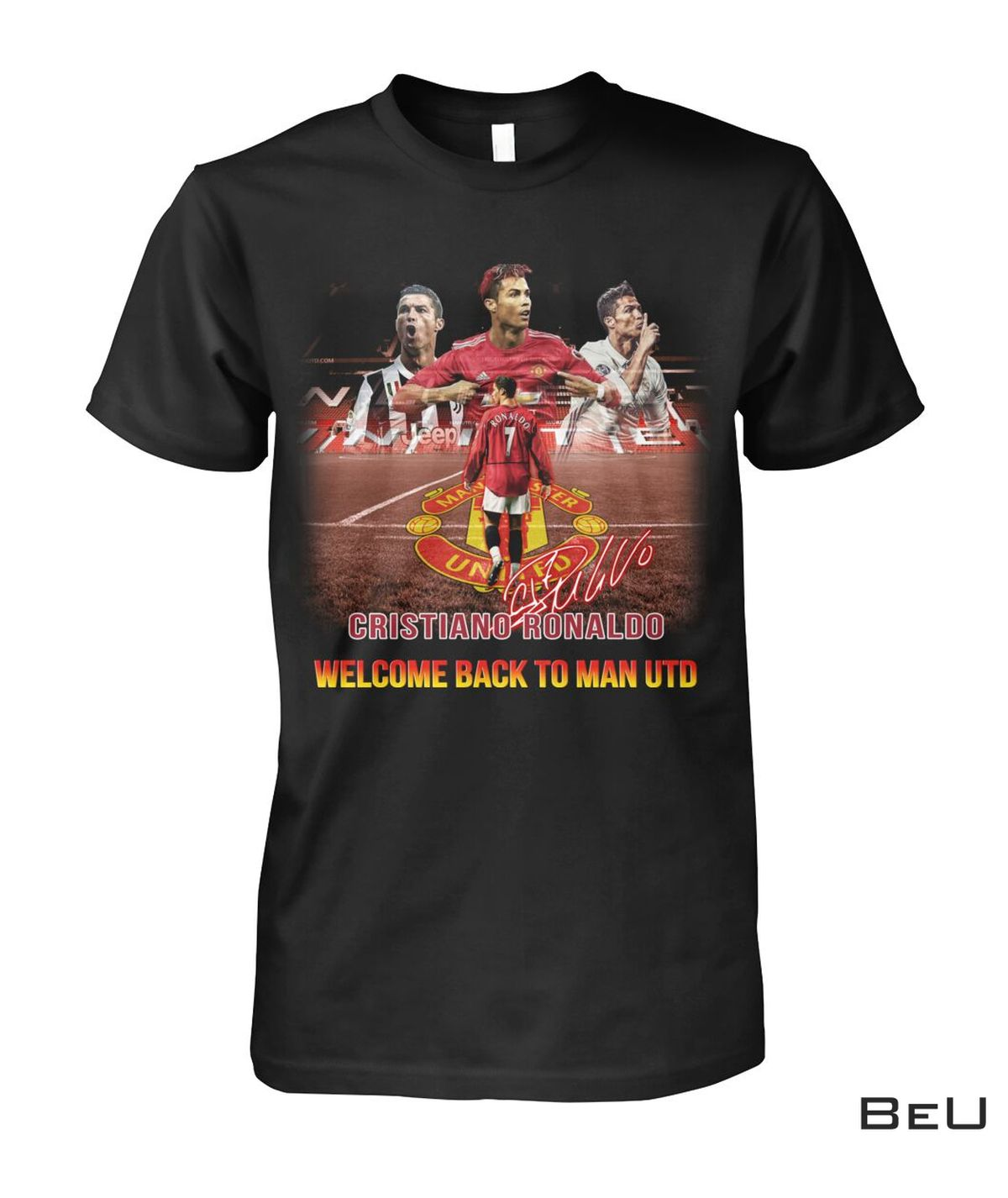 Cristiano Ronaldo Welcome Back To Manchester United Shirt, hoodie, tank top