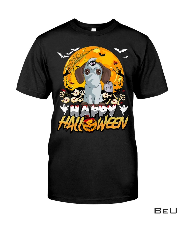 Dachshund Happy Halloween Shirt, hoodie, tank top