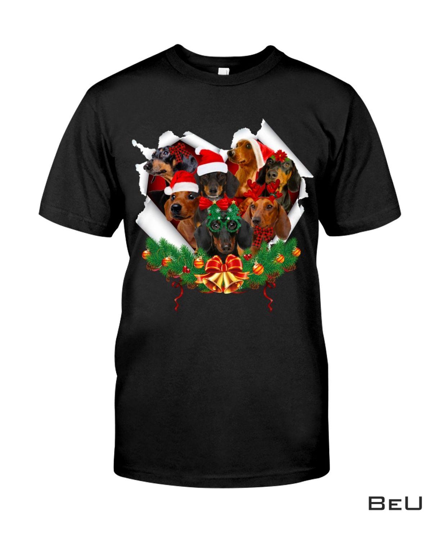 Dachshund Merry Christmas Shirt, hoodie, tank top