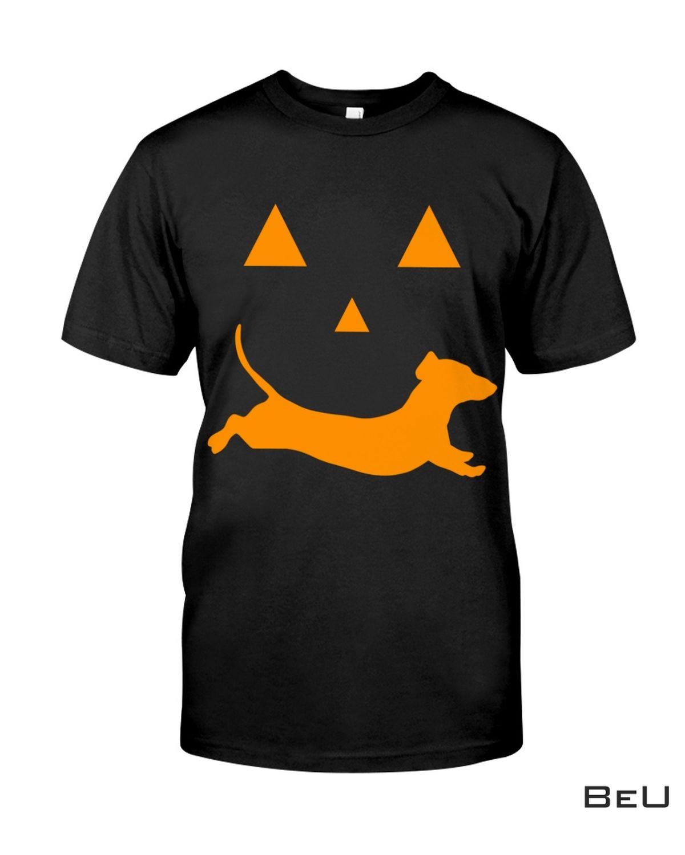 Dachshund Pumpkin Halloween Shirt, hoodie, tank top