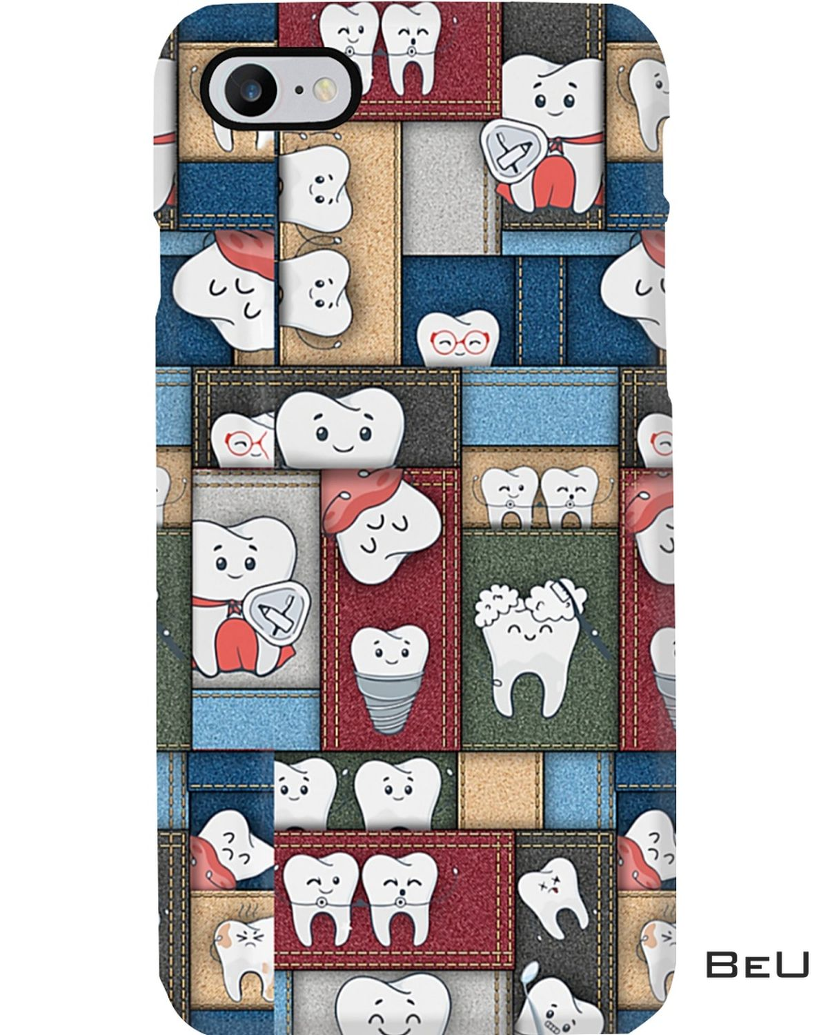POD Dentist Many Cute Images Phone Case