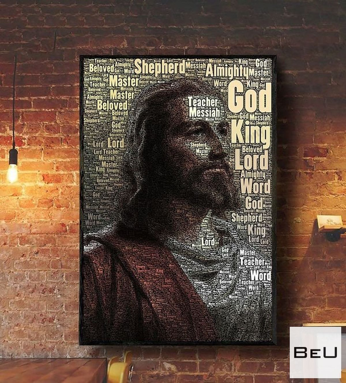 Different Names Of Jesus Poster