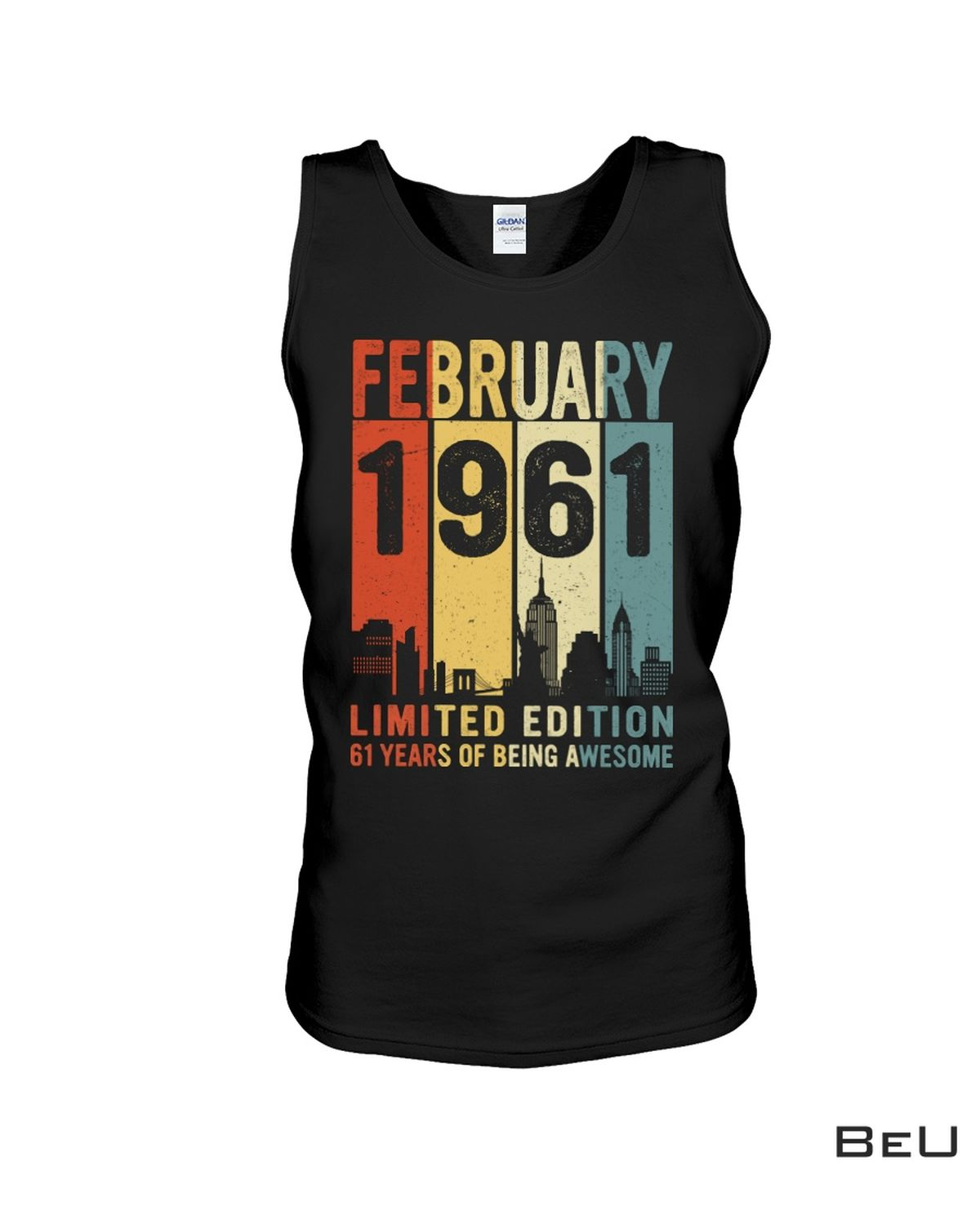 3D February 1961 Limited Edition Shirt