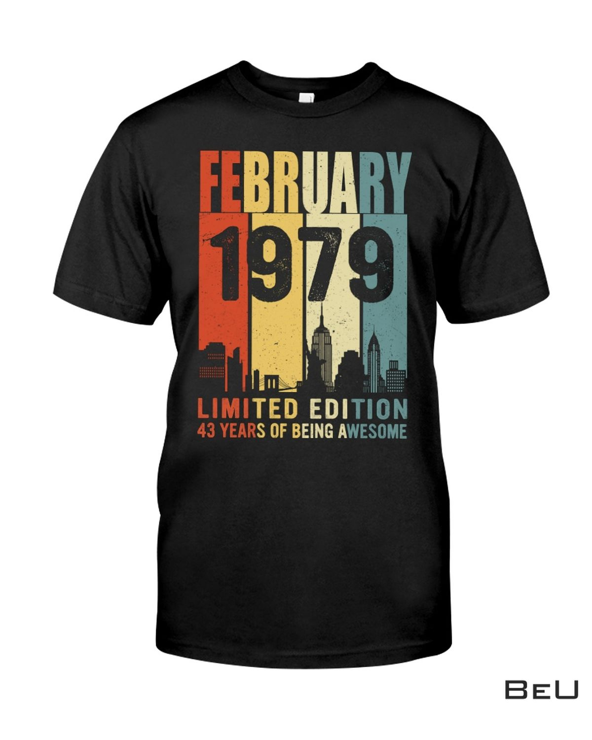 February 1979 Limited Edition Shirt, hoodie