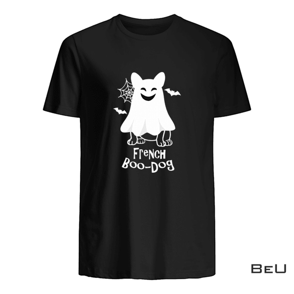 French Boo-dog Halloween Shirt