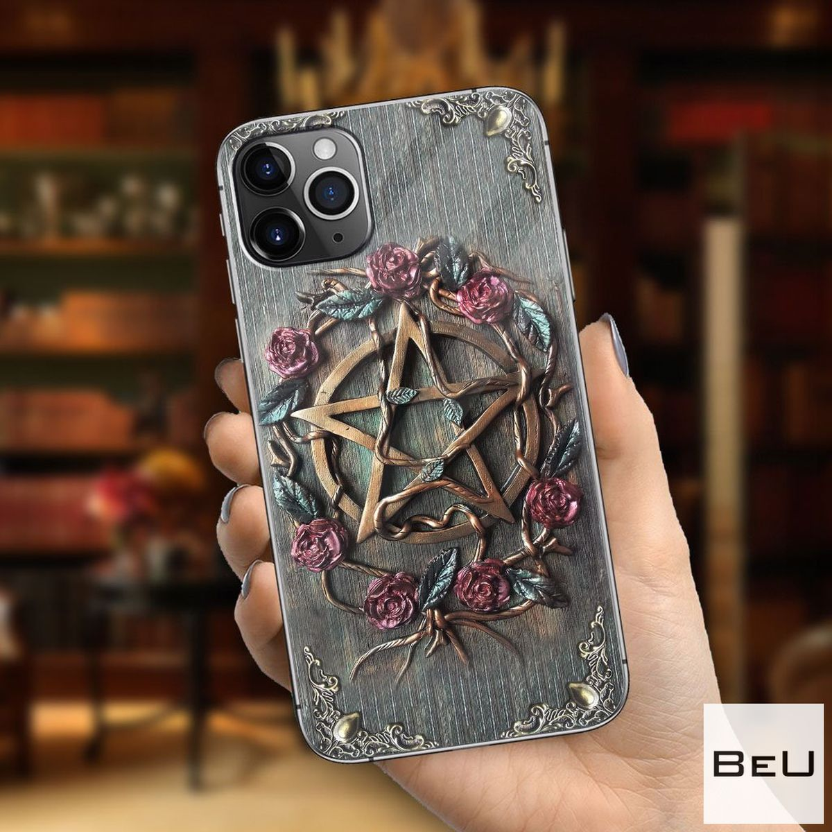Mystical Witch 3d Printed Phone Case