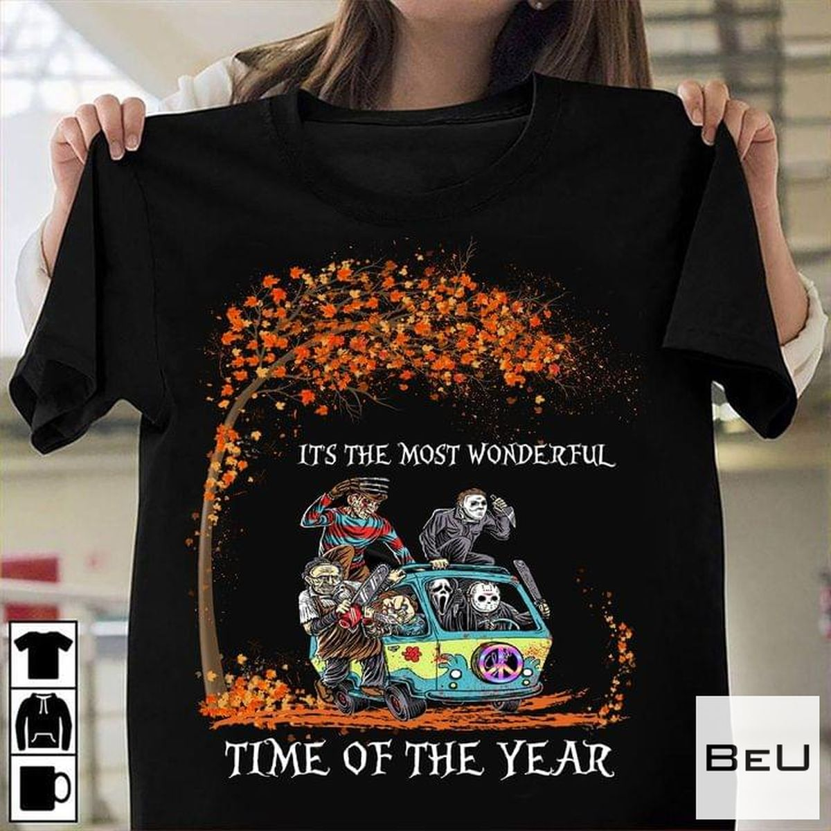 It's The Most Beautiful Time Of The Year Killer Halloween Shirt, hoodie, tank top