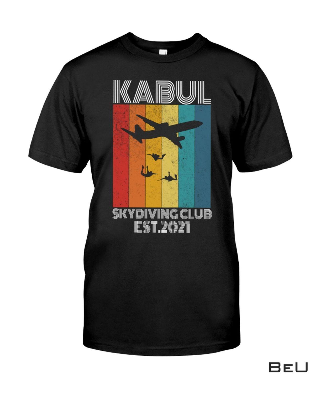 Kabul Skydiving Club Est 2021 Shirt, hoodie, tank top