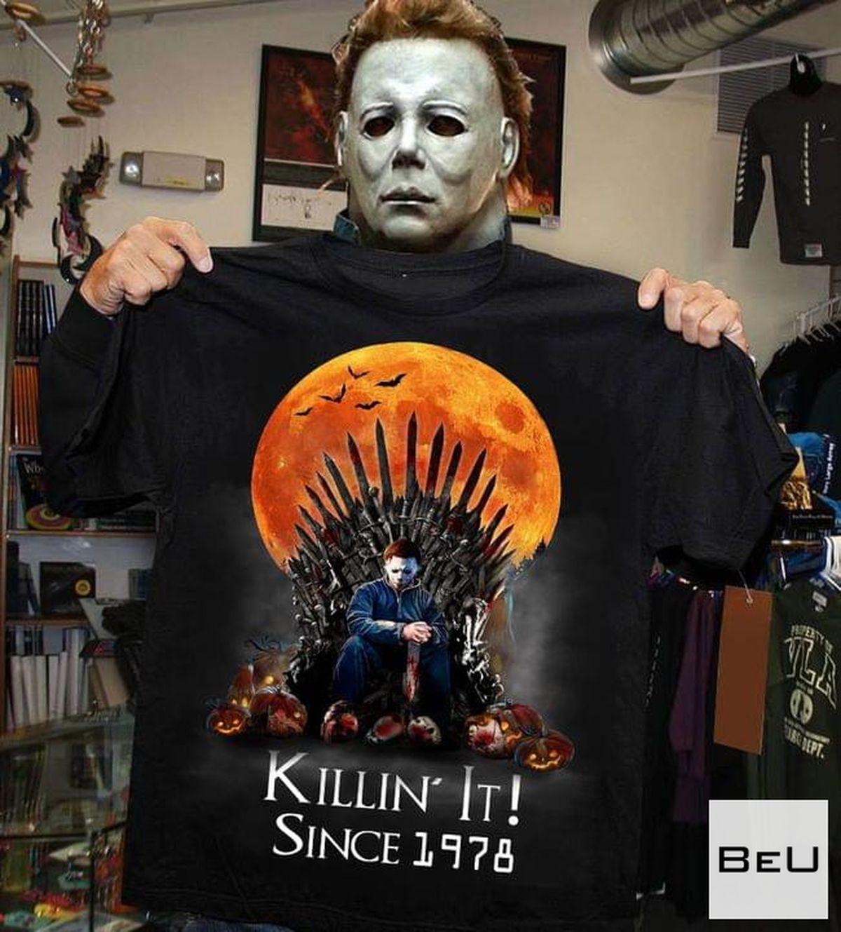 Killin' It Since 1978 Halloween Michael Myers Shirt