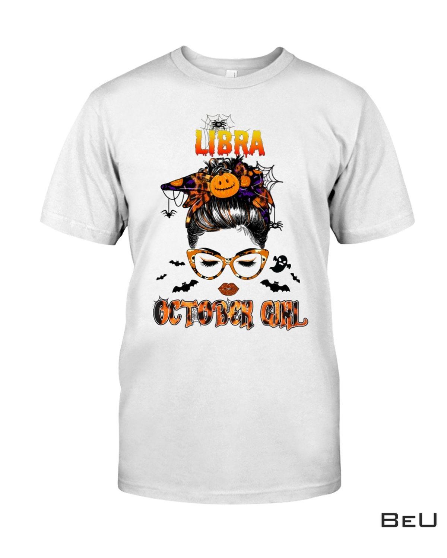 Libra October Girl Halloween Shirt