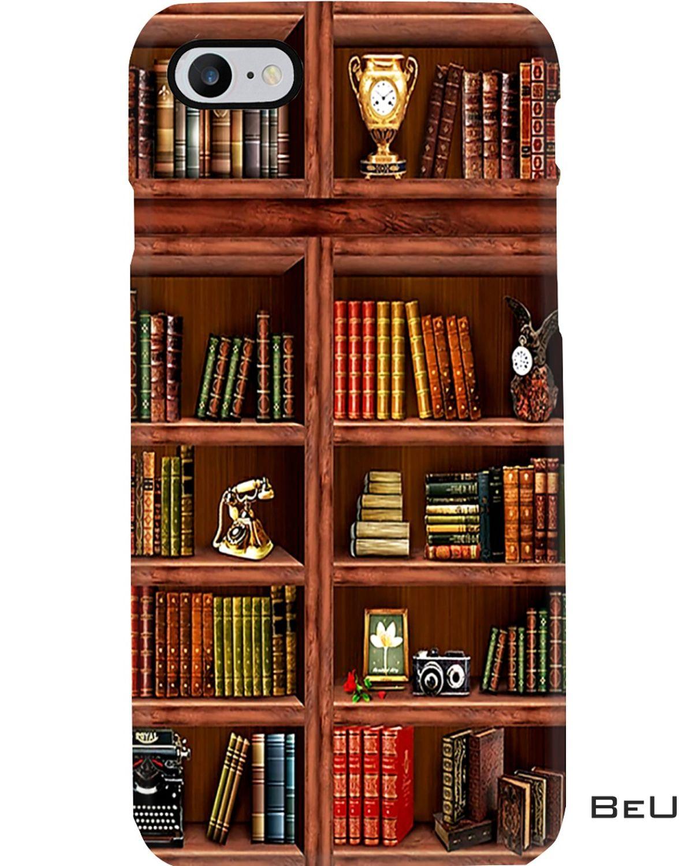 Librarian Book Shelf Vintage Iphone 8 Case