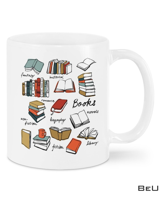 Librarian Books Categories Mugs