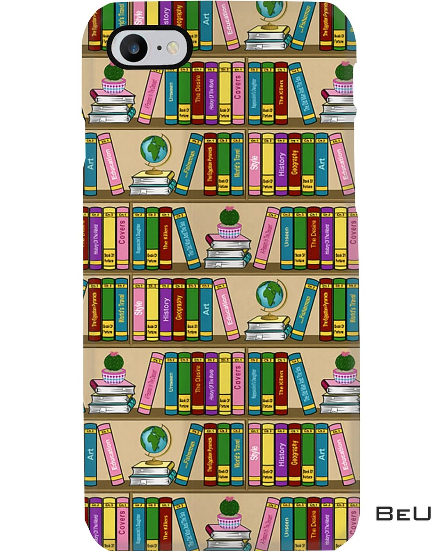 Librarian Color Bookshelf Iphone 8 Case