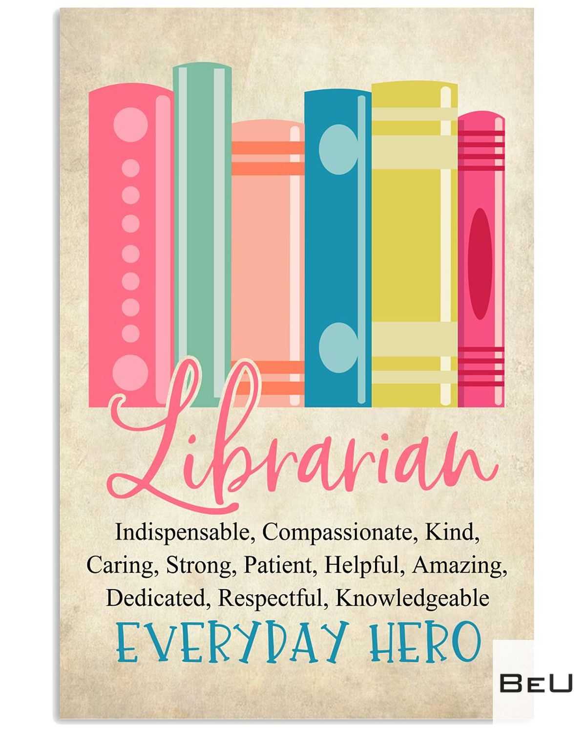 Librarian Everyday Hero Poster