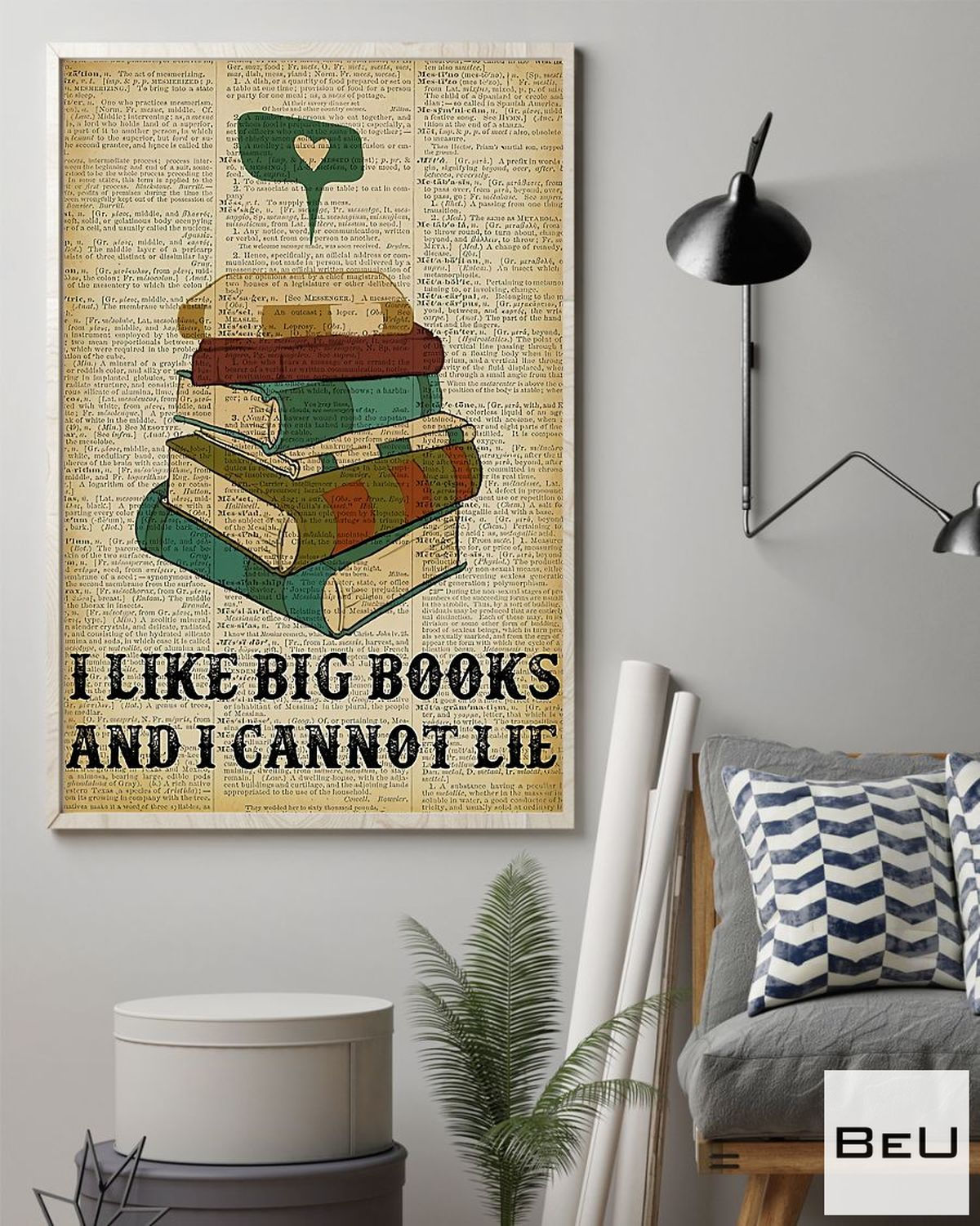 Adorable Librarian I Like Big Books And I Cannot Lie Poster
