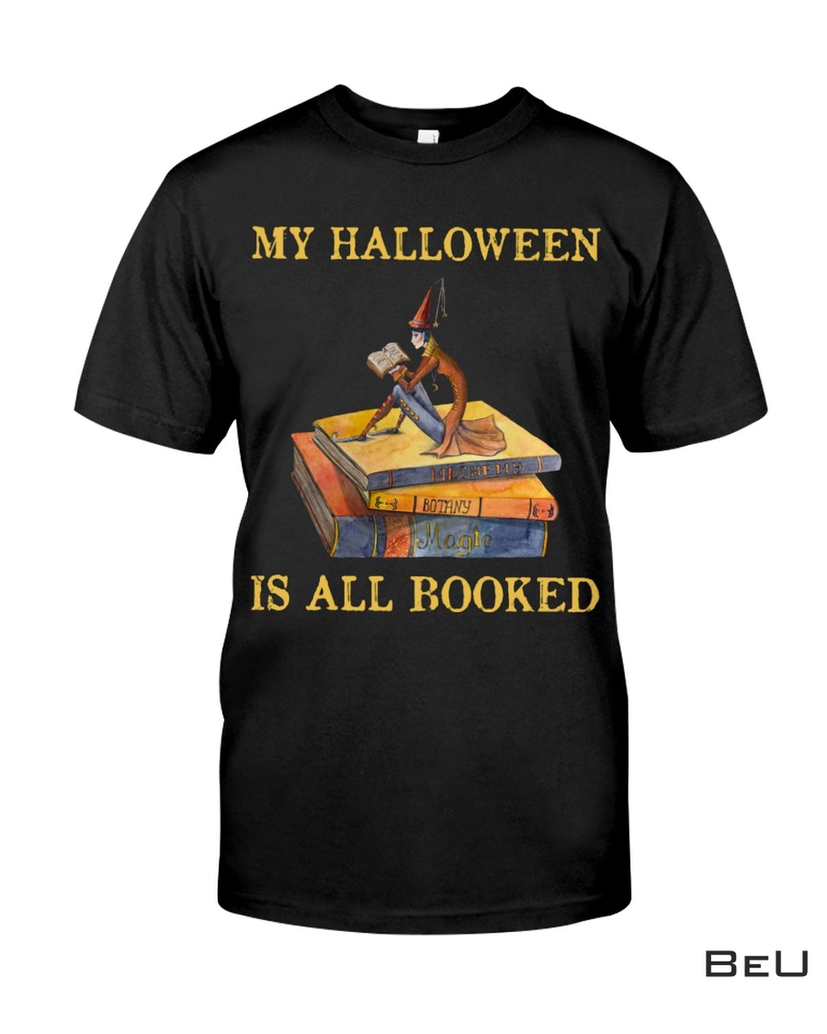 Librarian My Halloween Is All Booked Shirt, hoodie, tank top