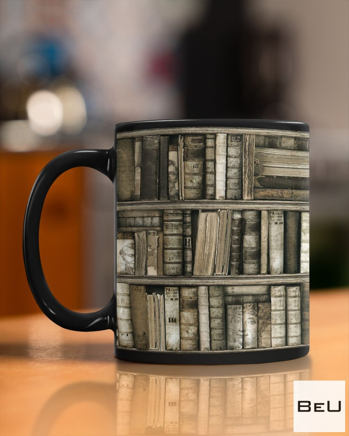 US Shop Librarian Old Books Mugs
