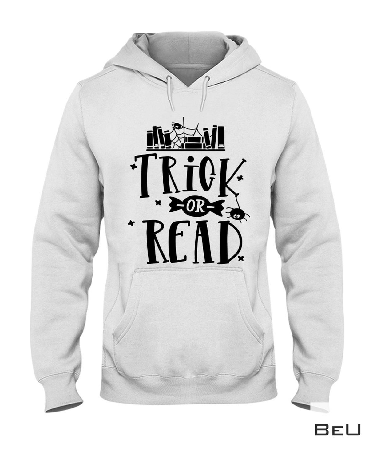 Esty Librarian Trick Or Read Library Halloween Book Shirt