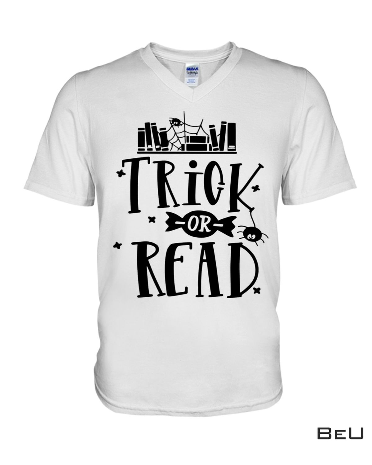 Mother's Day Gift Librarian Trick Or Read Library Halloween Book Shirt