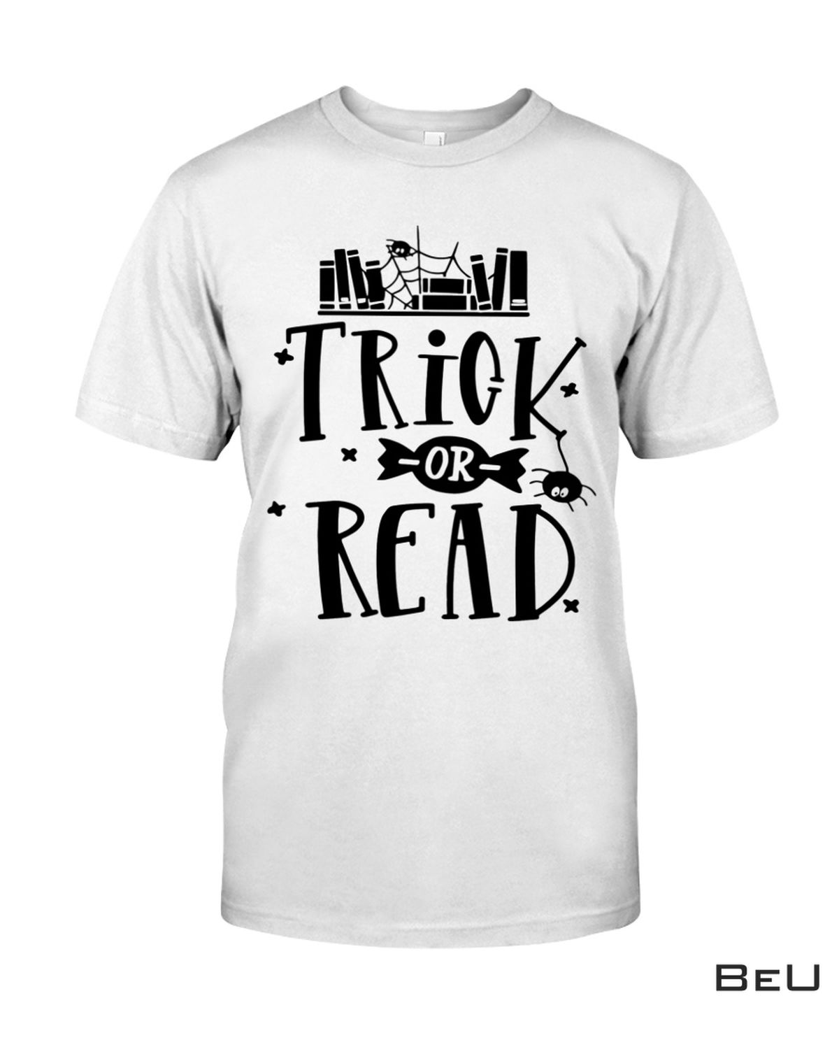 Librarian Trick Or Read Library Halloween Book Shirt
