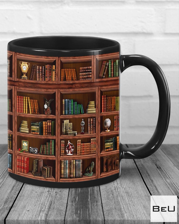 Popular Library Bookshelf Mugs