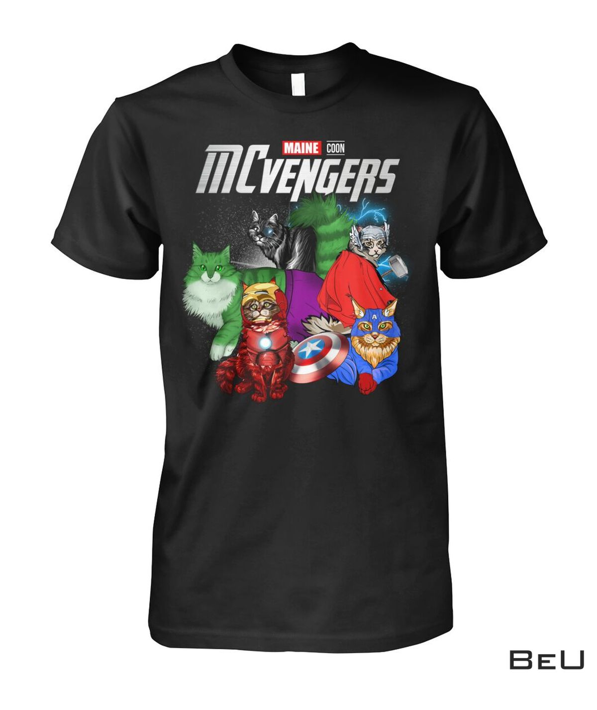 MCvengers Maine Coon Cat Avengers Shirt, hoodie, tank top
