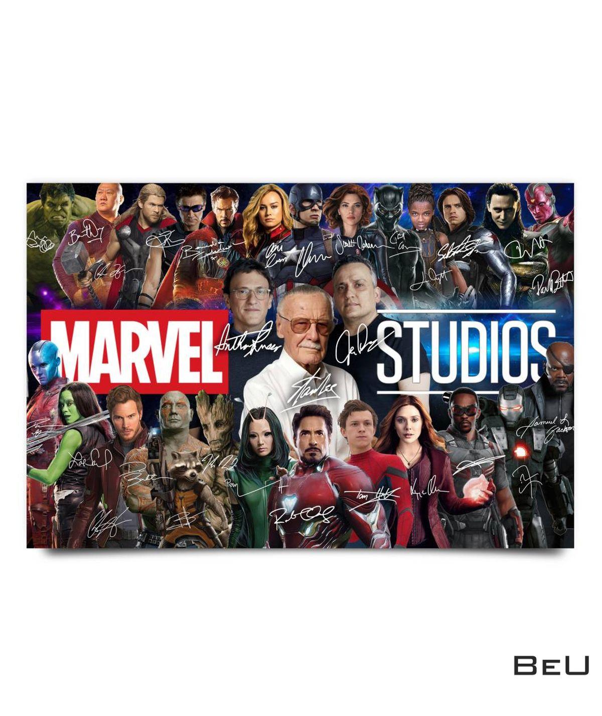 Marvel Studio Movie Characters Poster