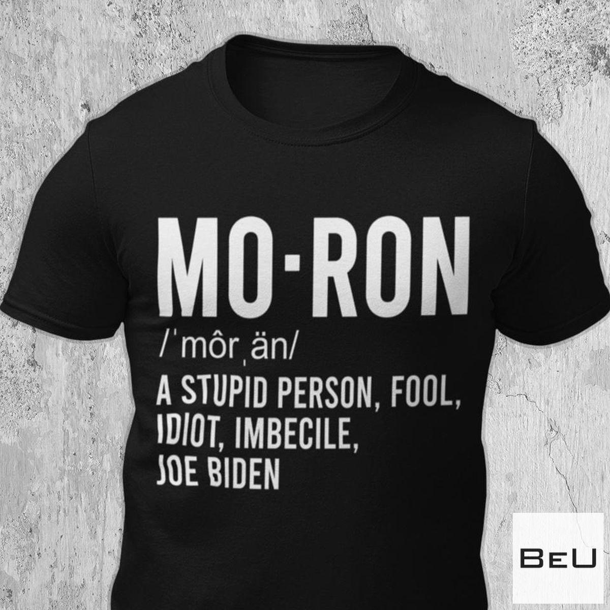 Moron Meaning Shirt
