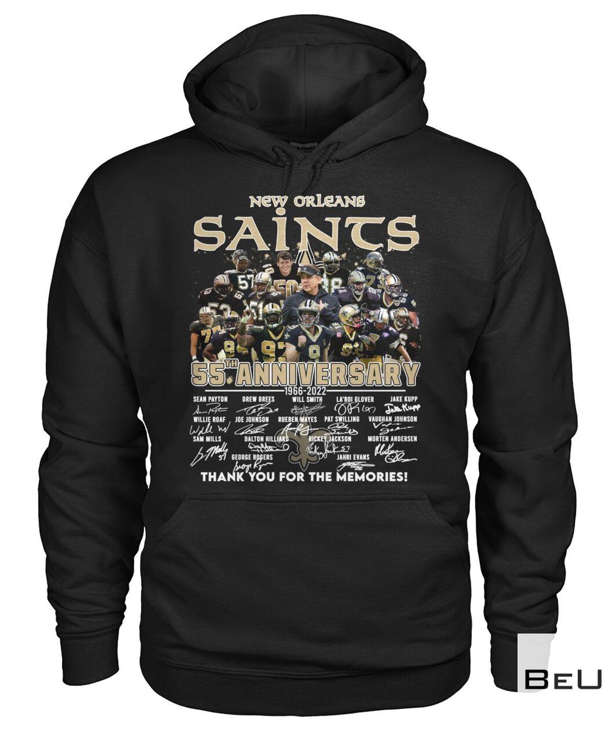 New Orleans Saints 55th Anniversary Shirt a