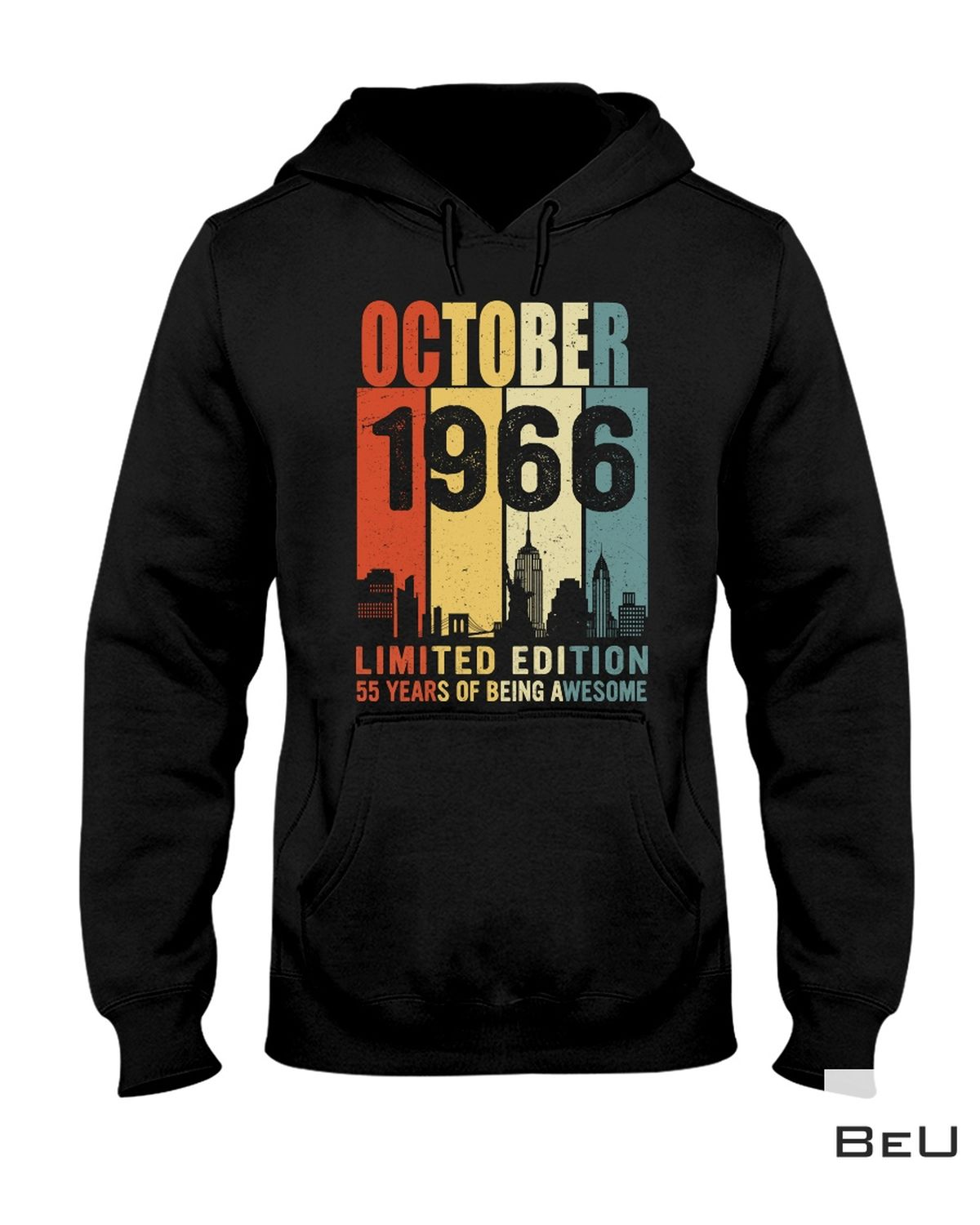 Vibrant October 1966 Limited Edition Shirt