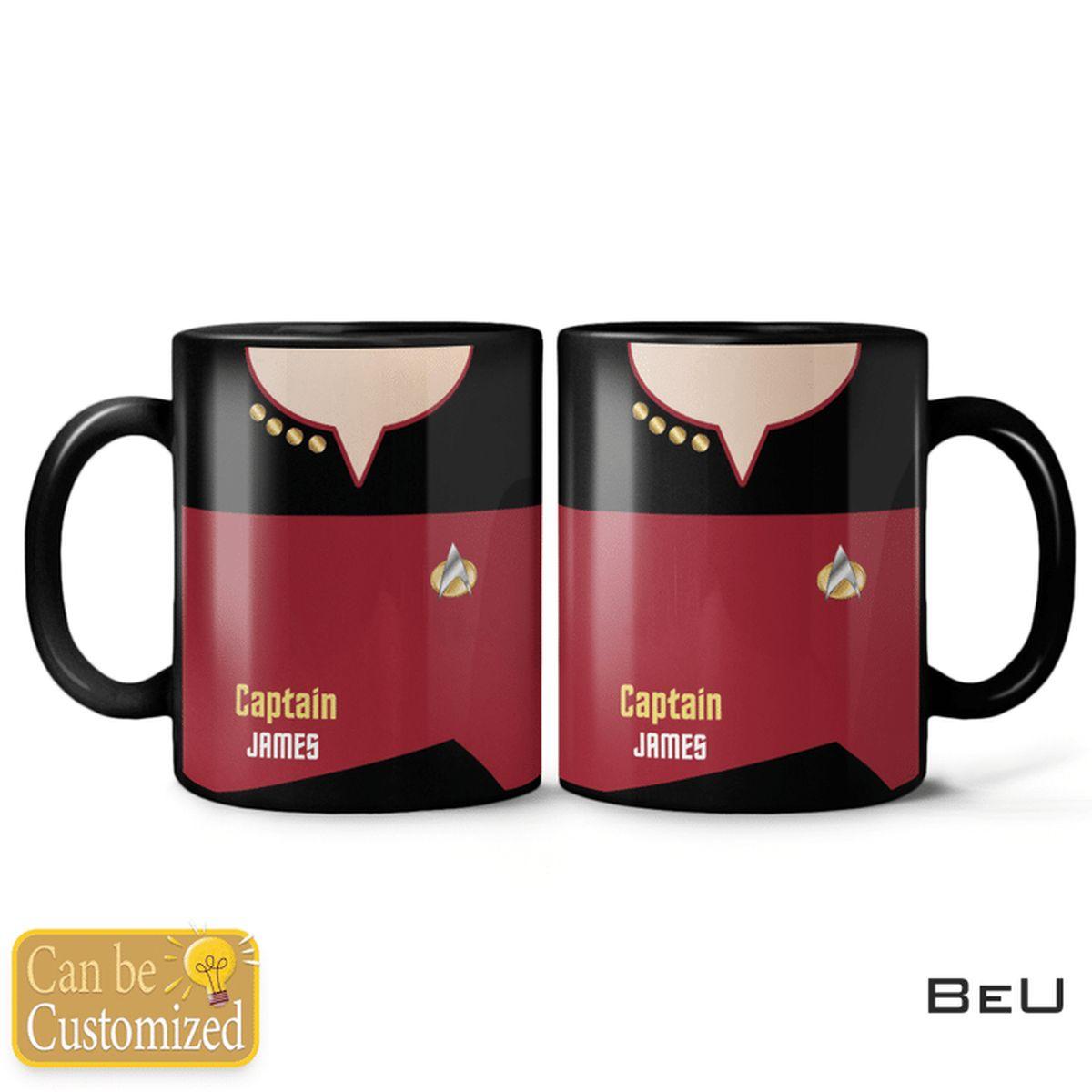 Personalized Star Trek Mug
