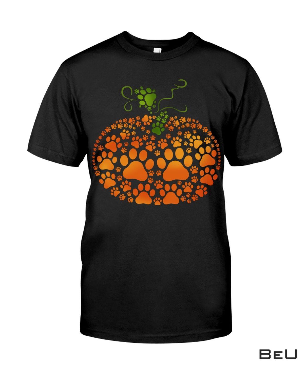 Pumpkin Dog Paws Shirt, hoodie