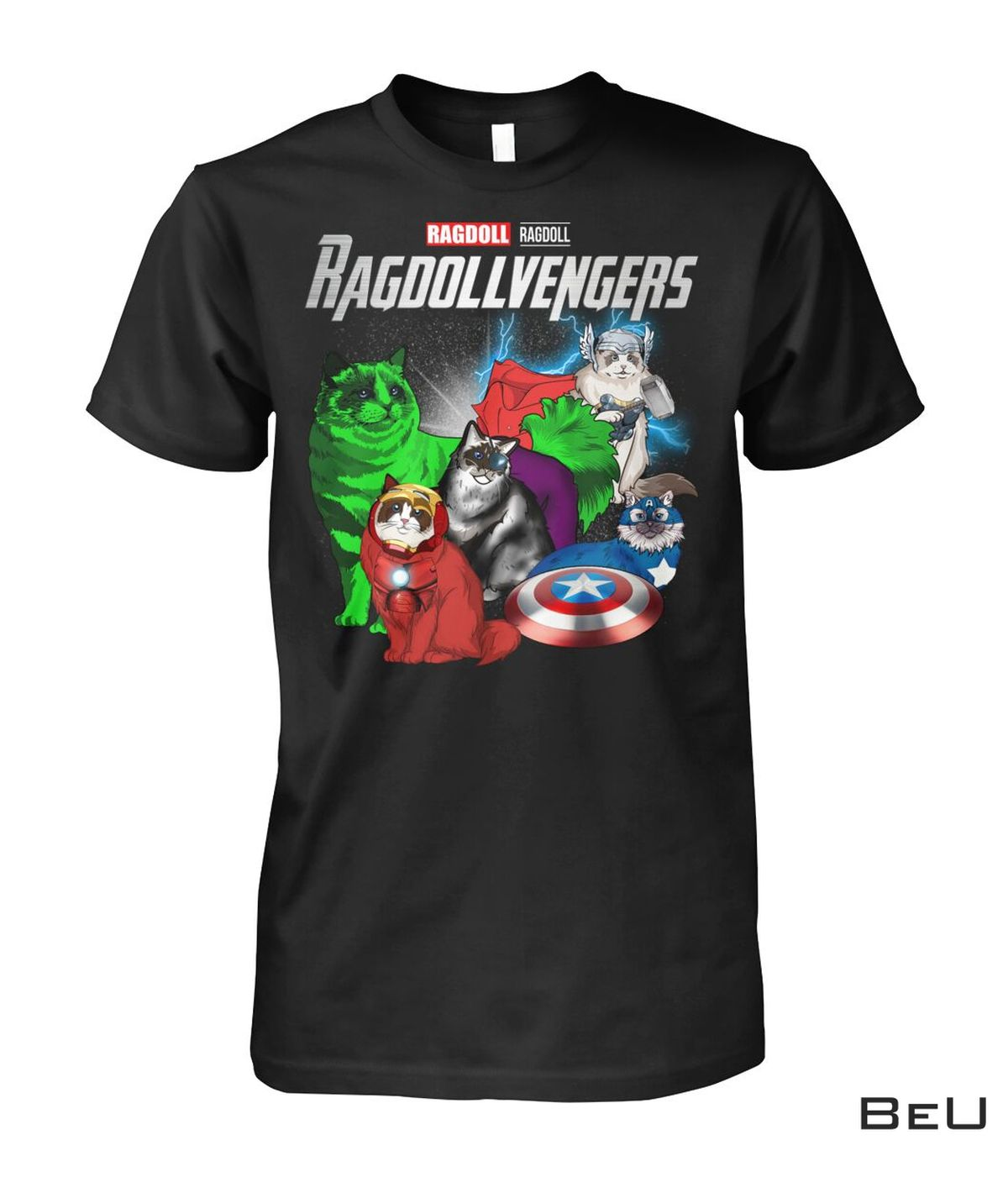 Ragdollvengers Ragdoll Cat Avengers Shirt, hoodie, tank top