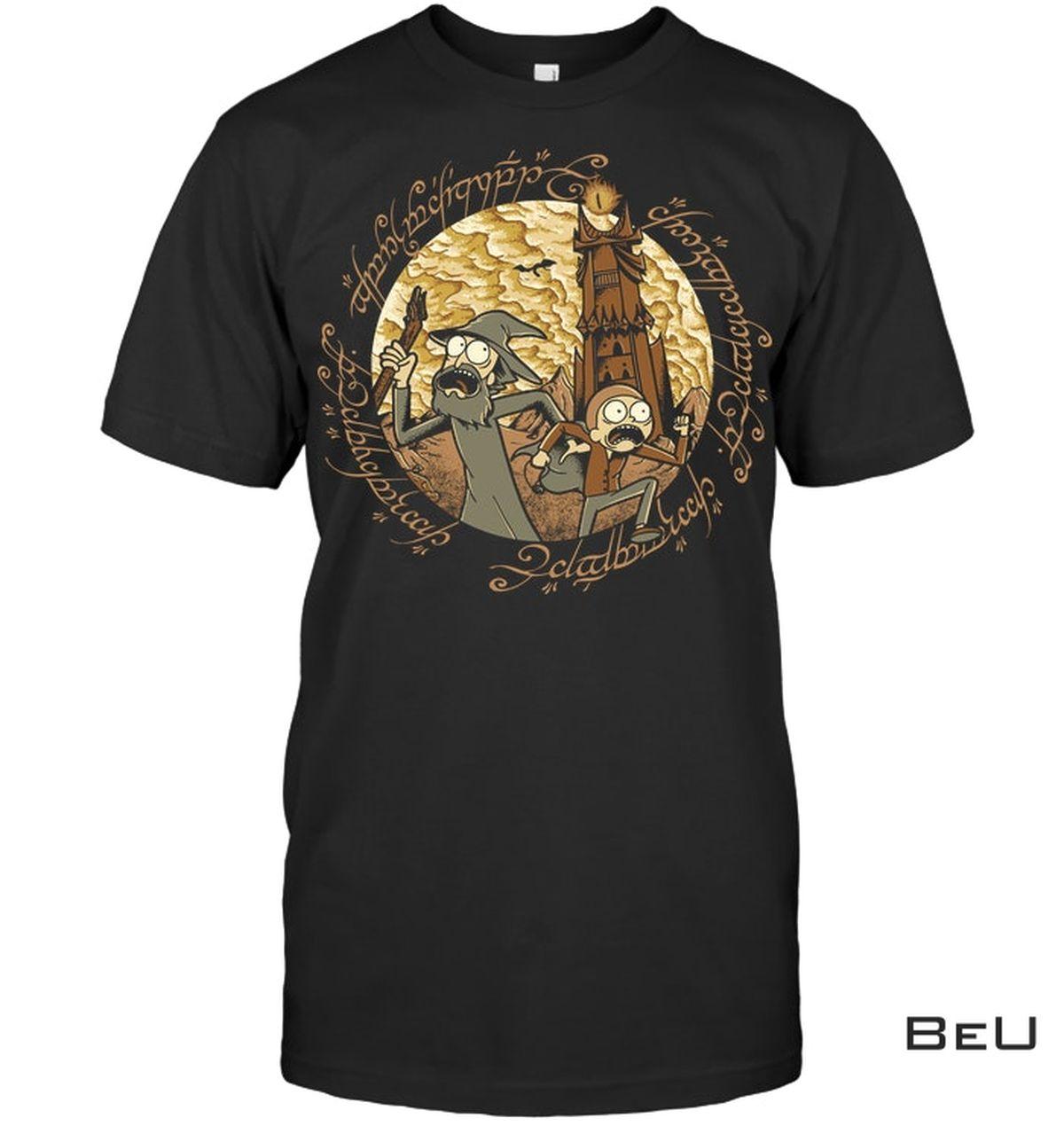 Rick Em Mordor Shirt