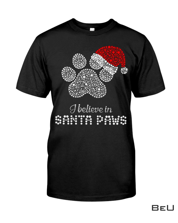 Santa Paw Xmas Dog Fill Diamond Shirt, hoodie