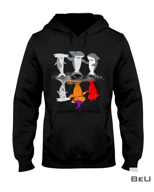 Best Shop Sharks Halloween Shirt
