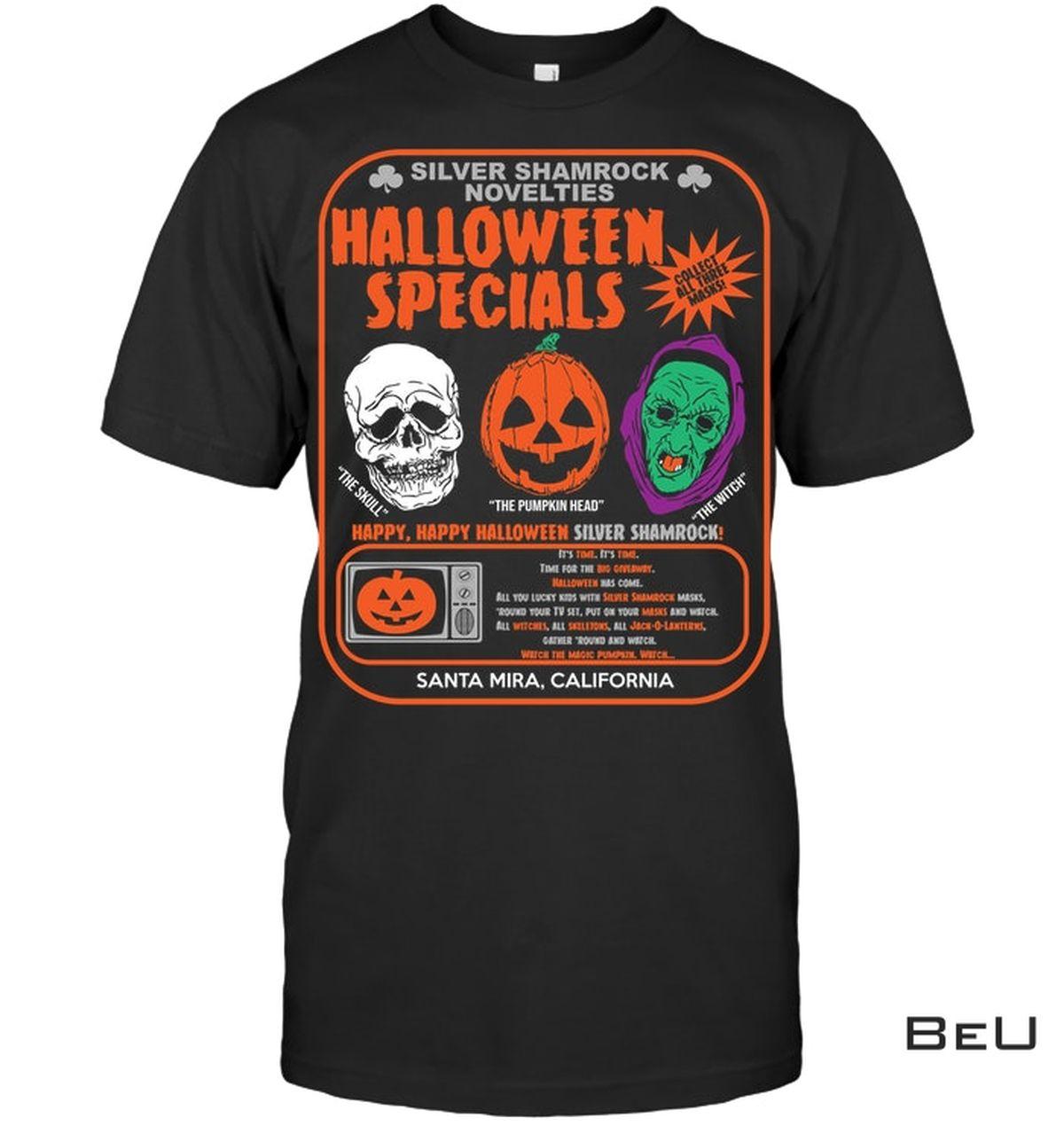 Silver Shamrock Novelties Halloween Specials Shirt