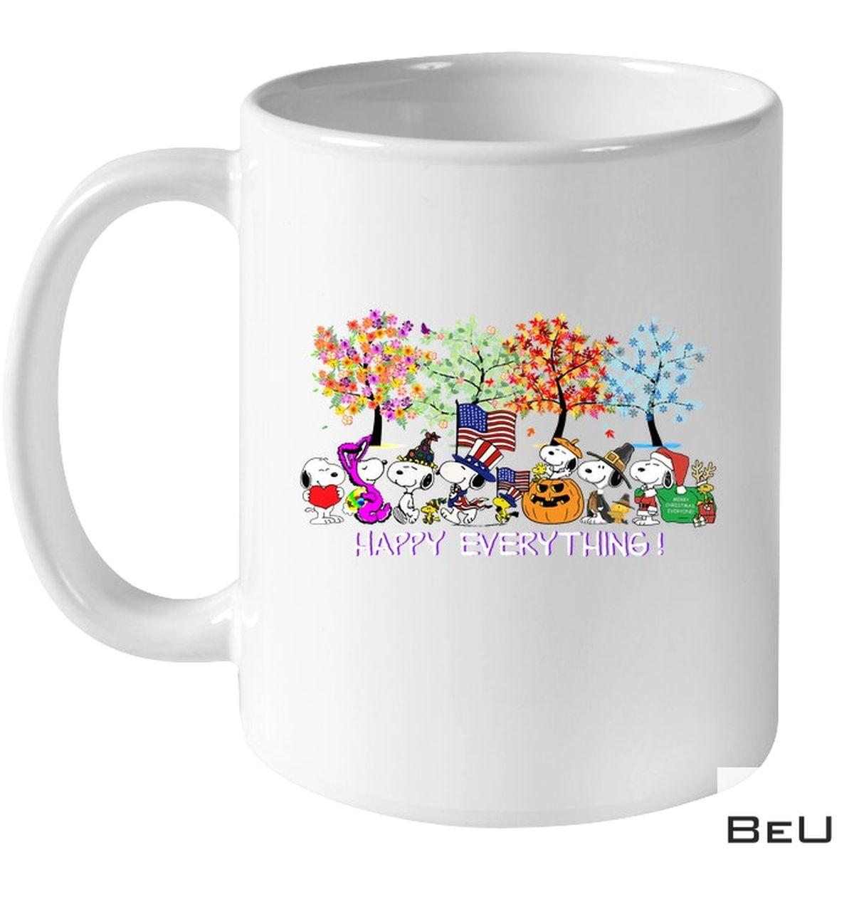 Snoopy Happy Everything Holiday Mug